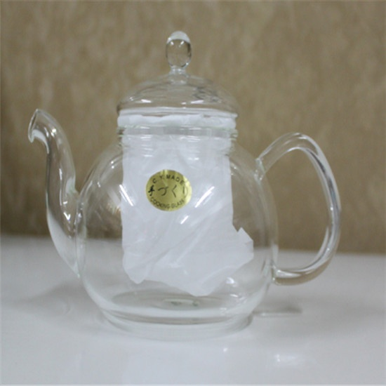 Heat resistant glass tea pot 01