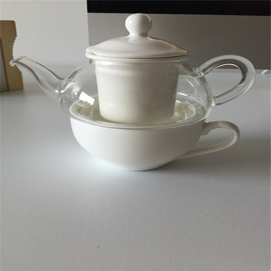 Heat resistant glass tea pot 05